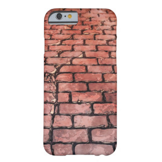 Vintage Brick Street Barely There iPhone 6 Case