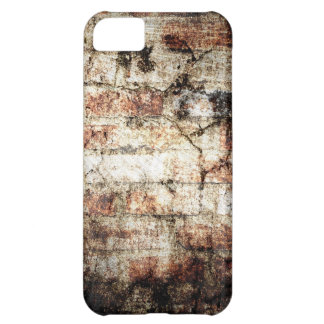 Vintage brick wall grunge crack textures 2 iPhone 5C cover