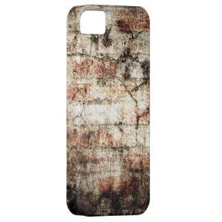 Vintage brick wall grunge crack textures 2 iPhone SE/5/5s case