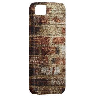 Vintage brick wall grunge textures 3 iPhone SE/5/5s case