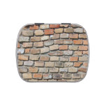 Vintage Brick Wall Jelly Belly Tins