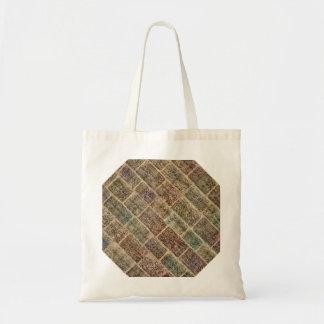 Vintage Bricks. Old Wall  Pattern Bags