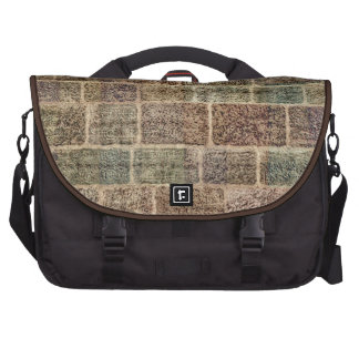 Vintage Bricks. Old Wall  Pattern Bags For Laptop