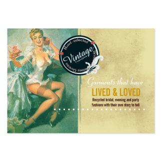 Vintage Bridal Fashions - Business Card