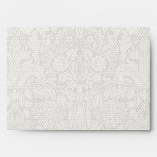 Vintage bridal party bridesmaids wedding envelope