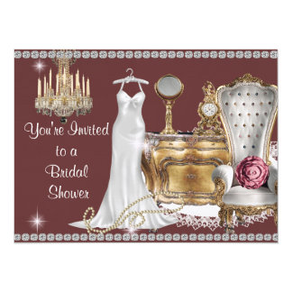 VINTAGE BRIDAL SHOWER INVITATION