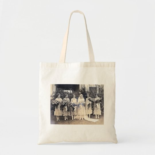 Vintage Bridal Wedding Party Bag