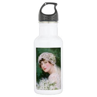 Vintage Bride 18oz Water Bottle