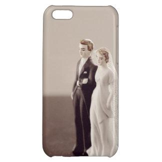Vintage Bride and Groom iPhone 5C Covers