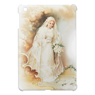 Vintage bride and wedding dress case for the iPad mini