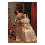 Vintage Bride, Bridesmaid, Maid of Honor Card