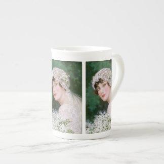 Vintage Bride Porcelain Mug