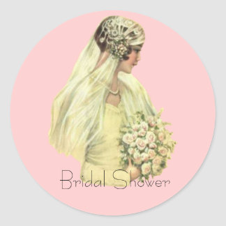 Vintage Bride Stickers