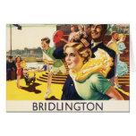 Vintage Bridlington England Resort Poster Cards