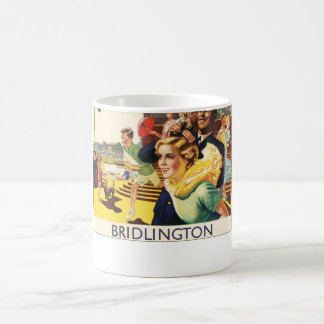 Vintage Bridlington England Resort Poster Mug