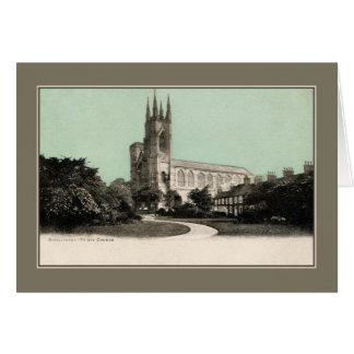 Vintage Bridlington Priory Church Card