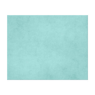 Vintage Bright Aqua Blue Green Paper Parchment Canvas Print