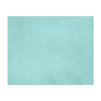 Vintage Bright Aqua Blue Green Paper Parchment Canvas Print
