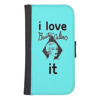 Vintage Bright Blue samsung galaxy4/4 Wallet Cases Phone Wallets
