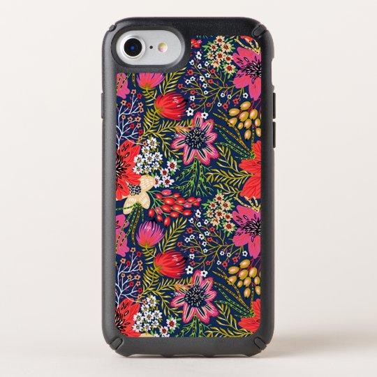 newest 0e190 b969e Vintage Bright Floral Pattern Speck iPhone 7 Case
