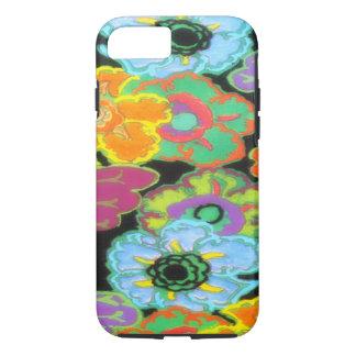 Vintage Bright Flowers Floral Design iPhone 7 case
