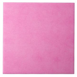Vintage Bright Pink Parchment Paper Background Tile