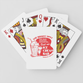 Vintage Bright Spot Logo Playing Cards