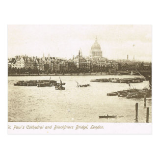 Vintage Britain, London, St Paul's Cathedral, Postcard