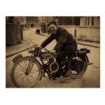 Vintage British Motorcycle  Early 1900s Post Cards
