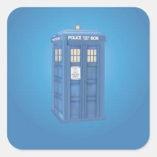Vintage British Police Callbox Sticker
