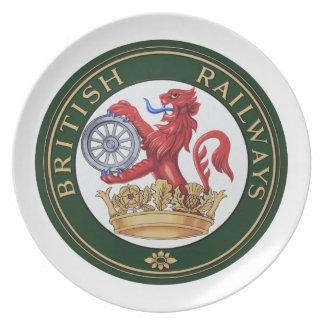 Vintage British Railways logo Plate