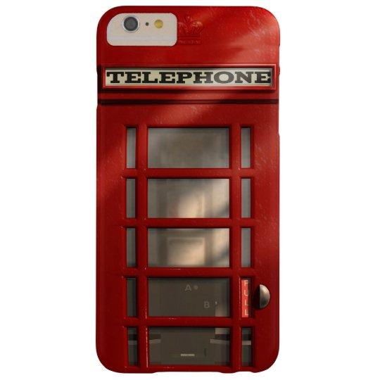 Vintage British Red Telephone Box Barely There iPhone 6 Plus Case
