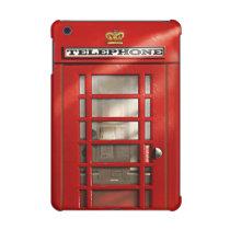 Vintage British Red Telephone Box iPad Mini Retina Case