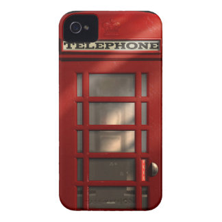 Vintage British Red Telephone Box iPhone 4 Case-Mate Case