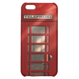 Vintage British Red Telephone Box iPhone 5C Cover