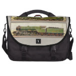 Vintage British Steam trains Laptop Computer Bag