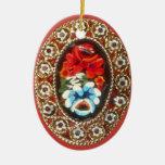 Vintage broach ornament