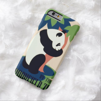"""Vintage """"Brookfield Zoo"""" cases Barely There iPhone 6 Case"""