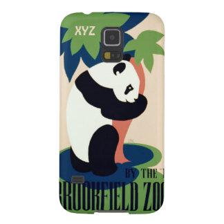 "Vintage ""Brookfield Zoo"" custom monogram cases Galaxy S5 Case"