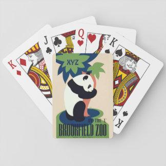 "Vintage ""Brookfield Zoo"" custom playing cards"