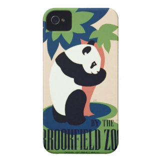 """Vintage """"Brookfield Zoo"""" iPhone case Case-Mate iPhone 4 Cases"""