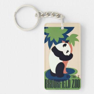"Vintage ""Brookfield Zoo"" key chain"