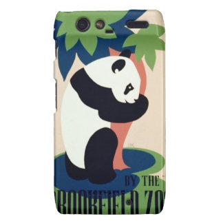 "Vintage ""Brookfield Zoo"" Motorola case Motorola Droid RAZR Cases"