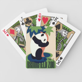"""Vintage """"Brookfield Zoo"""" playing cards"""