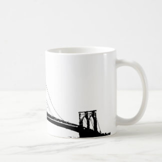Vintage Brooklyn Bridge Coffee Mug