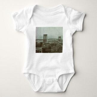 Vintage Brooklyn Bridge Glass Slide Tee Shirt