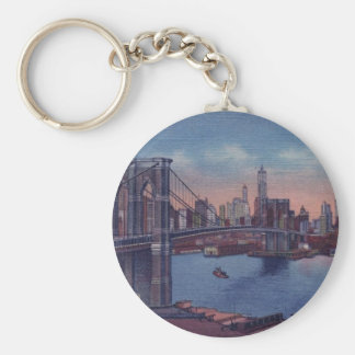 Vintage Brooklyn Bridge Keychains