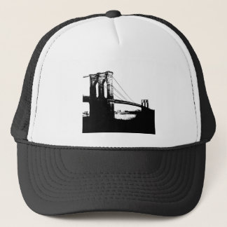Vintage Brooklyn Bridge Trucker Hat