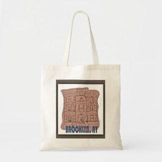 Vintage Brooklyn Tote Bag