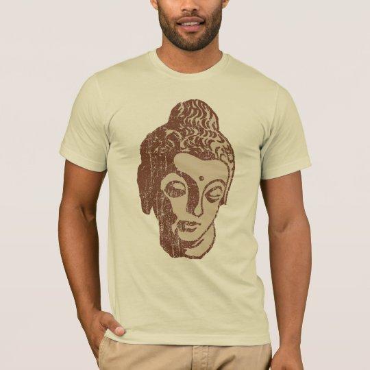 Vintage Brown Buddha head Shirt